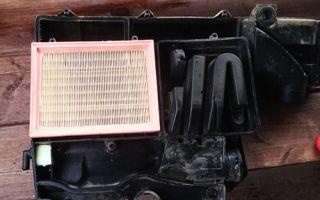 Фильтр воздушный Форд Фьюжн: где находится и как заменить