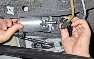 Топливный фильтр Шевроле Нива: где находится и как заменить