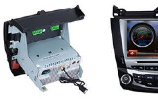 Камера заднего вида и магнитола на Митсубиси Лансер 9: замена и установка