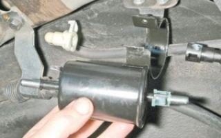 Топливный фильтр на шевроле авео: где находится, замена
