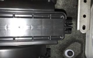 Салонный фильтр киа сид: где находится, замена