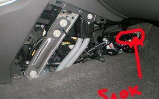 Кнопка багажника на Шевроле Круз: что делать, если не открывается