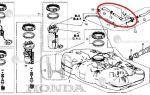 Топливный фильтр Хонда Цивик 4D: где находится и как заменить