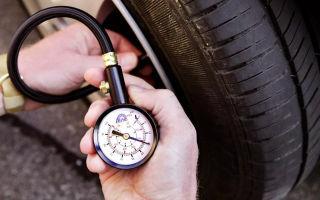 Давление в шинах автомобиля: таблица и в чем измеряется