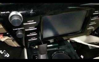 Магнитола Тойота Камри 40: установка, ремонт и замена головного устройства