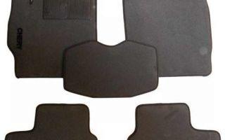 Коврики на мицубиси лансер 10: ворсовые, резиновые, оригинал