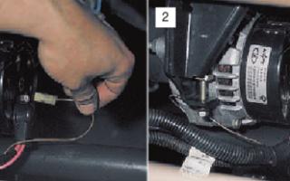 Генератор для ВАЗ 2110 или 2112: какой установлен и как заменить