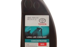 Антифриз toyota super long life coolant: характеристика и аналоги продукта