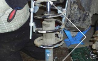 Стойка амортизатора на ниссан альмера: выбор и замена