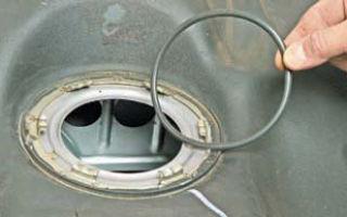 Замена топливного фильтра Шевроле Лачетти: как снять бензонасос