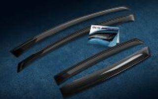 Дефлекторы окон и капота для митсубиси лансер 10: выбор и установка
