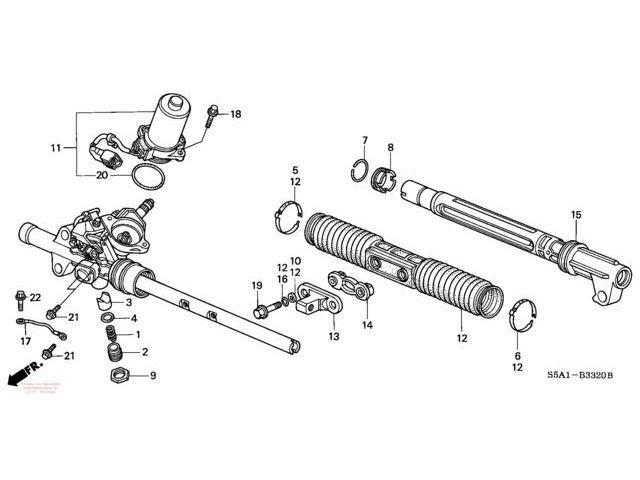 Рейка на Митсубиси Лансер 10: ремкомплект, как подтянуть рулевую рейку