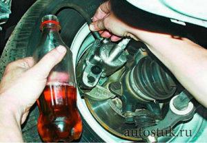 Тормозная жидкость Лада Ларгус: выбор, замена