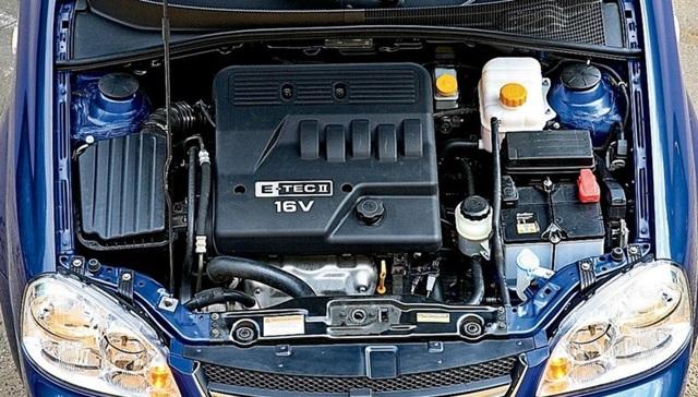 Двигатели Шевроле Лачетти: какие устанавливали, технические характеристики