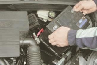 Стартер Форд Фиеста 5: где находится, как снять, замена
