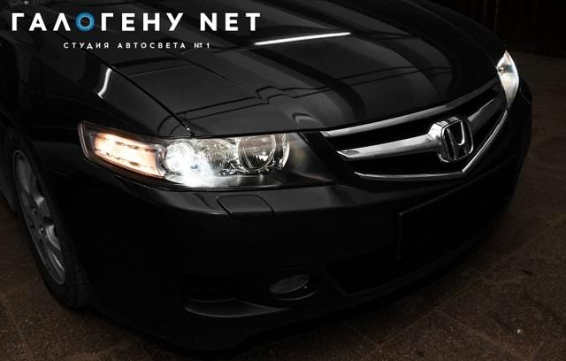Фары на Хонда Аккорд 7: замена