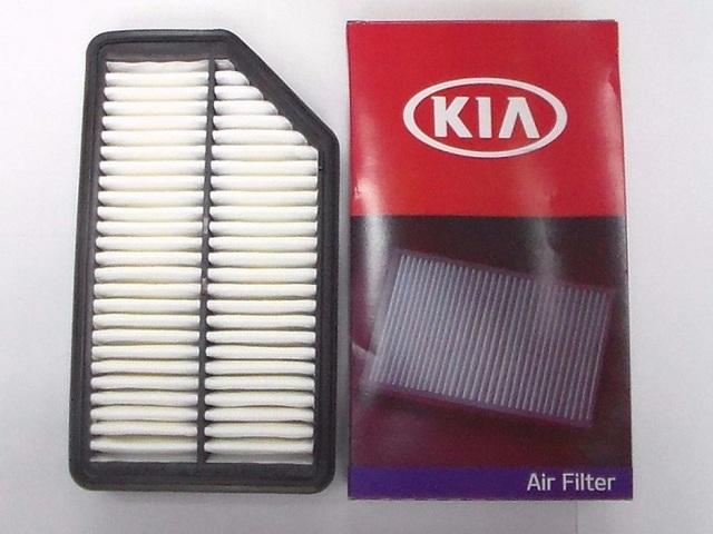 Воздушный фильтр Киа Рио 3: где находится, замена