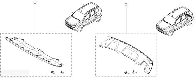 Тюнинг Рено Дастер своими руками: порогов, решетки радиатора