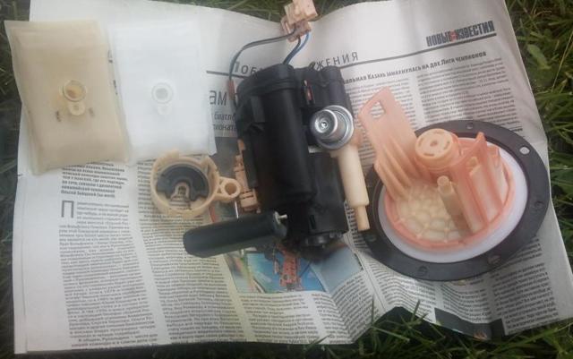 Топливный фильтр Хендай Гетц: где находится, замена