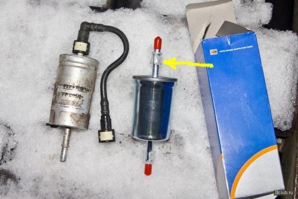 Топливный фильтр Форд Фокус 3: где находится, замена