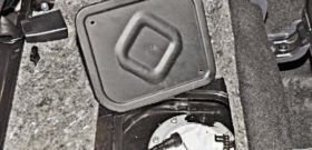 Топливный фильтр Шевроле Нива: где находится, замена