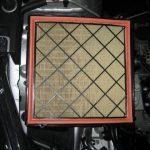 Воздушный фильтр на Шевроле Круз: замена
