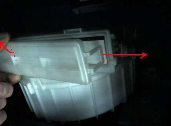 Салонный фильтр Митсубиси asx: где находится, замена