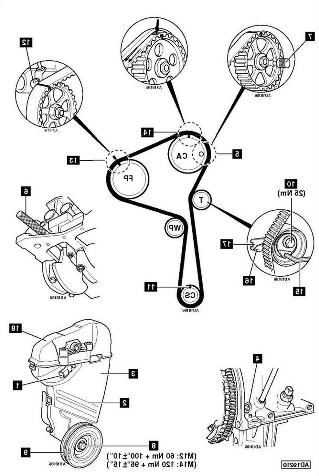 Ремень ГРМ на Рено Лагуна: замена своии руками