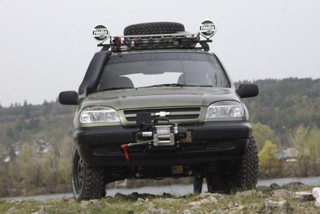 Тюнинг Нива Шевроле своими руками: двигателя, кузова, салона