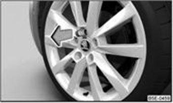 Датчики давления в шинах Шкода Кодиак: установка, проверка