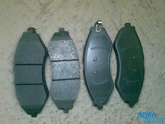 Тормозные колодки Дэу Нексия: выбор и замена