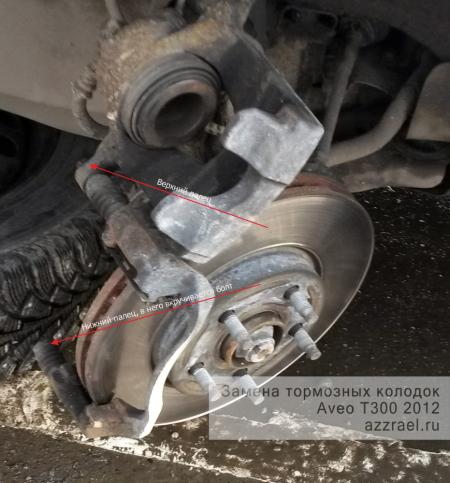 Тормозные колодки Шевроле Авео: обзор, установка