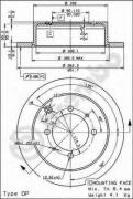 Тормозные диски на Митсубиси Лансер 9: выбор и замена