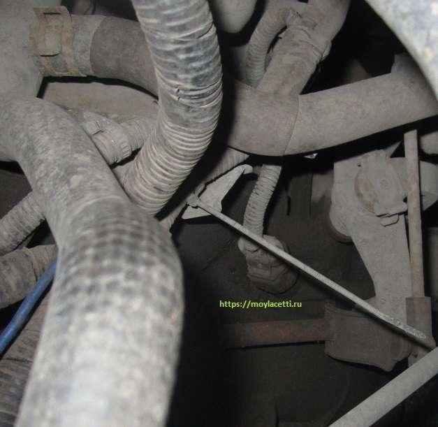 Датчик скорости на Шевроле Круз: где находится, ремонт