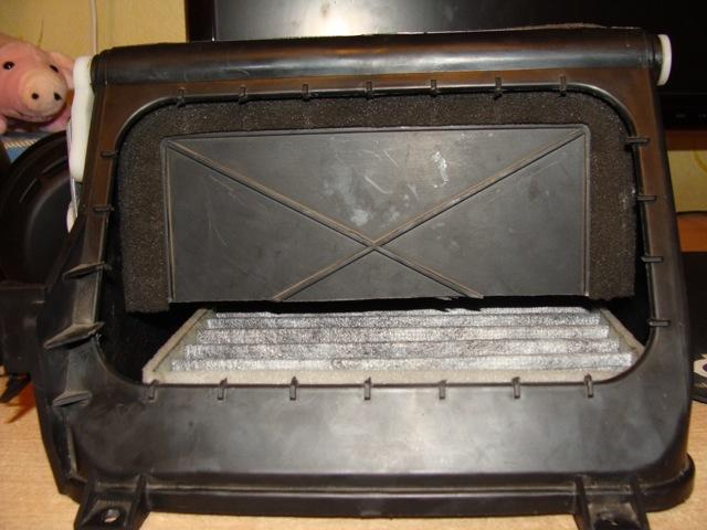 Салонный фильтр на Дэу Матиз: где находится, замена