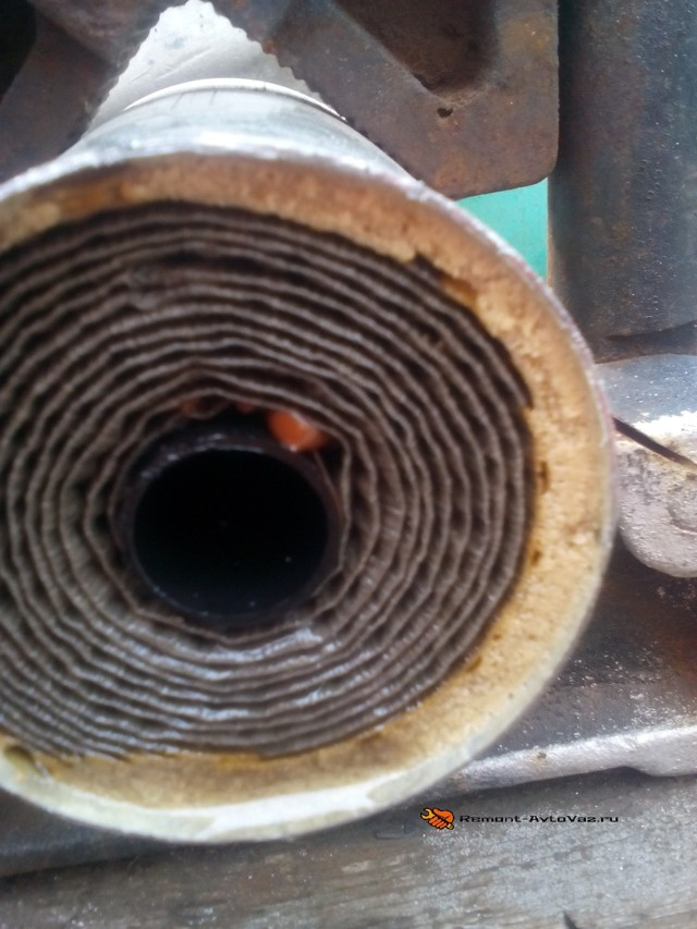 Топливный фильтр Лада Гранта: где находится, замена
