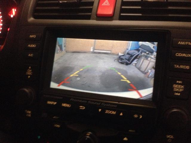 Камера заднего вида Хонда Аккорд 7: выбор и установка
