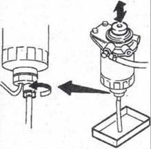 Топливный фильтр Ниссан Примера: где находится, замена