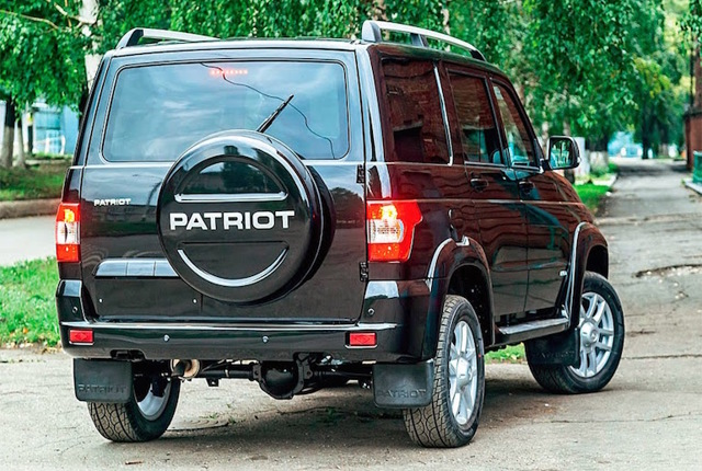 Комплектации УАЗ Патриот: описание,характеристики