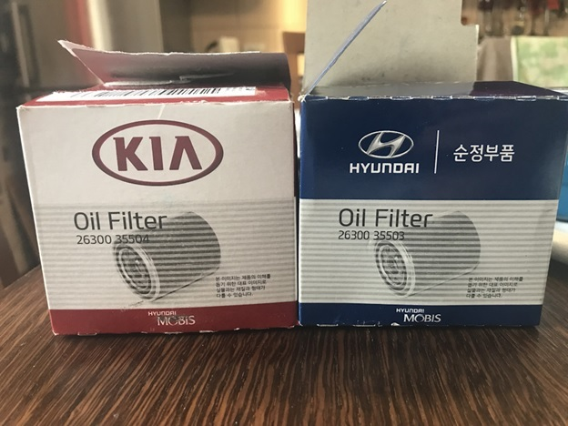 Масляный фильтр Киа Спектра: оригинал, аналог, как отличить подделку, замена