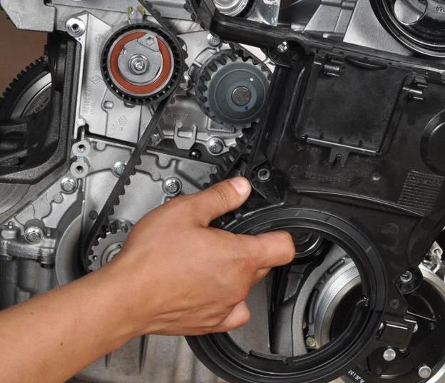 Ремень ГРМ Рено Дастер: замена своими руками