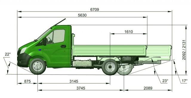 Комплектации ГАЗель Некст: технические характеристики