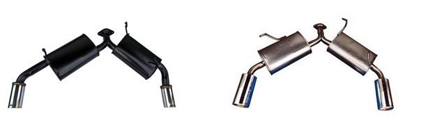 Выхлопная система на Митсубиси Лансер 9: замена глушителя, гофры