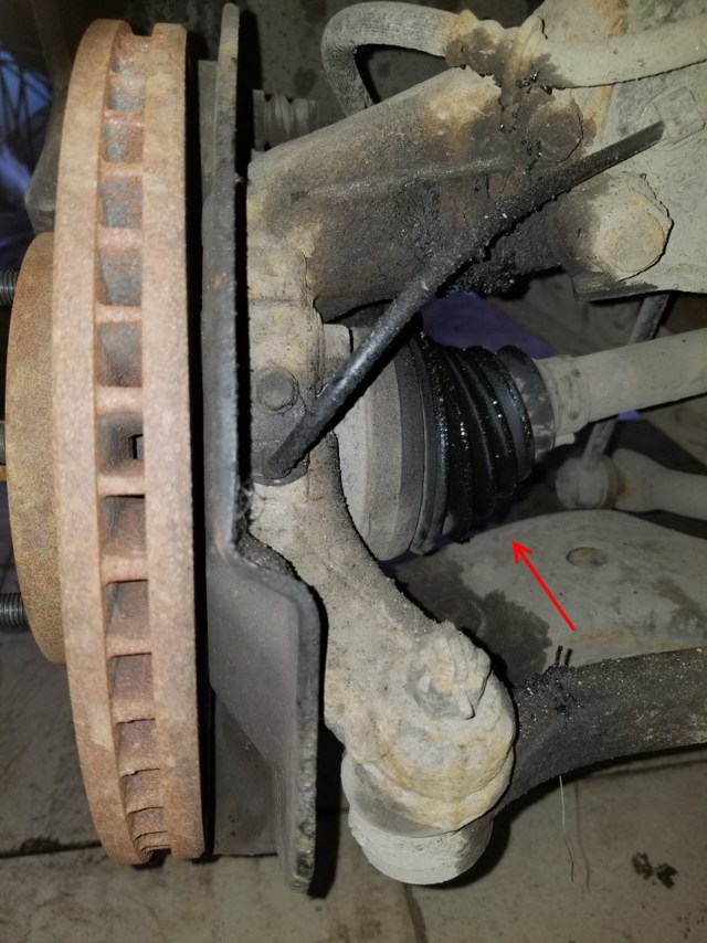 ШРУС и сальники на Тойота Королла 120: замена