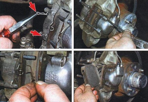 Тормозные колодки на ВАЗ 2114: выбор и замена