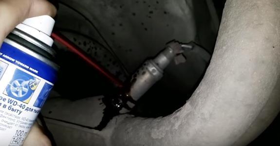 Датчик кислорода на ВАЗ 2110: где находится, замена