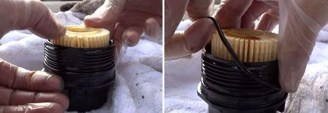 Воздушный и масляный фильтр Тойота Королла 120: замена
