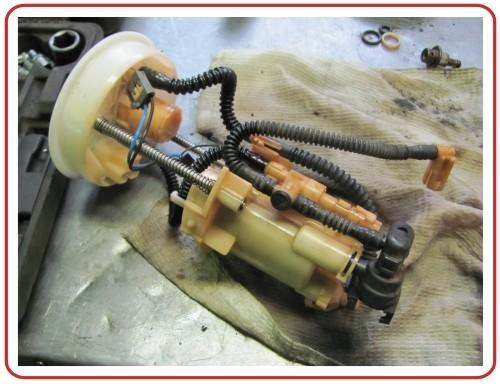Топливный фильтр Хонда СРВ: где находится, замена
