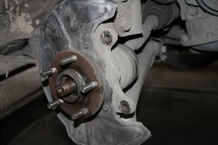 Ступичный подшипник Тойота Королла 120: замена передней и задней ступицы