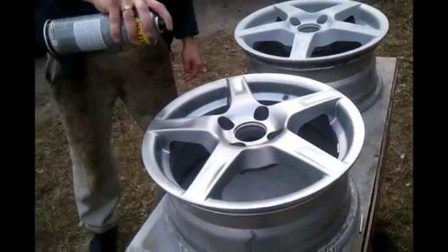 Покраска дисков: порошковая, баллончиком своими руками